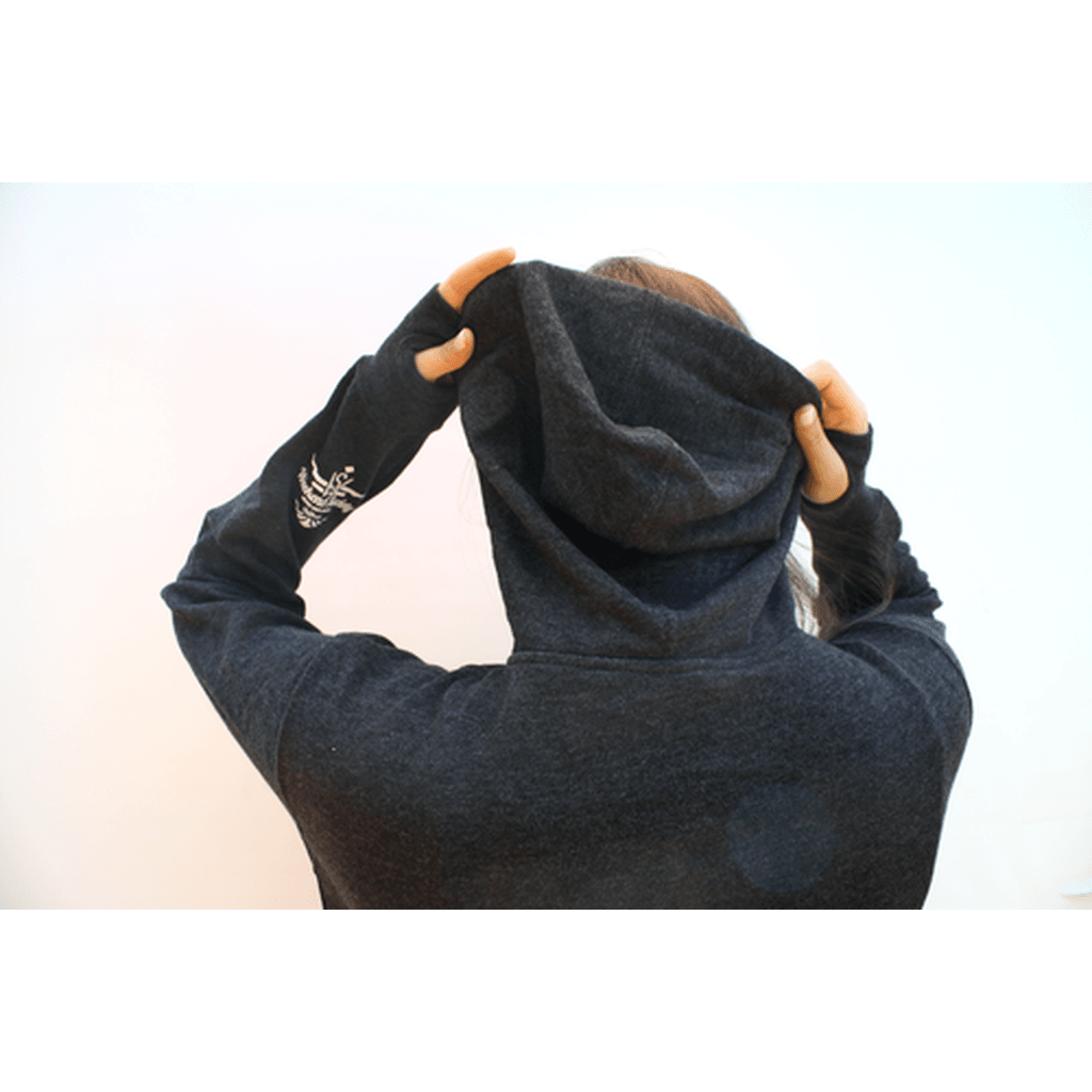 Basecamp Zip Hoodie 2.0 CoolHatcher at TheArtOfLiving.Earth