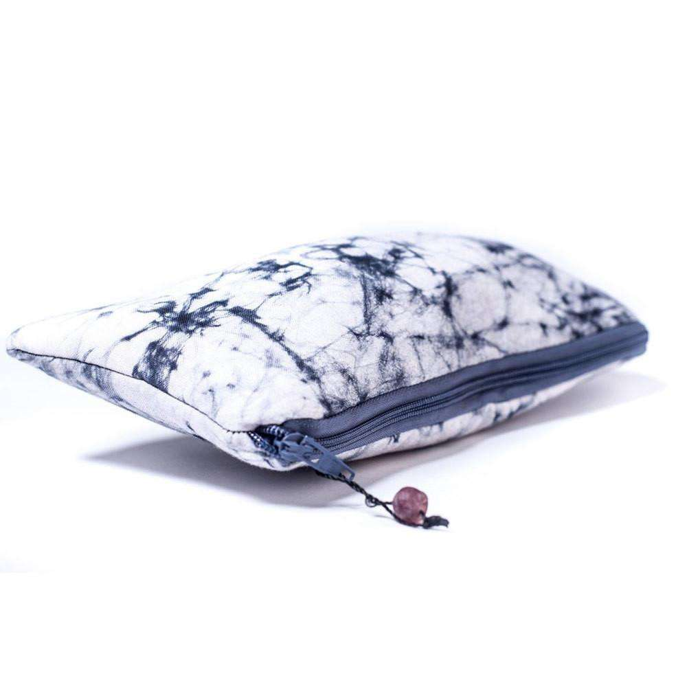 Batiked Clutch Purse - Gray - World Peaces (P) CoolHatcher at TheArtOfLiving.Earth