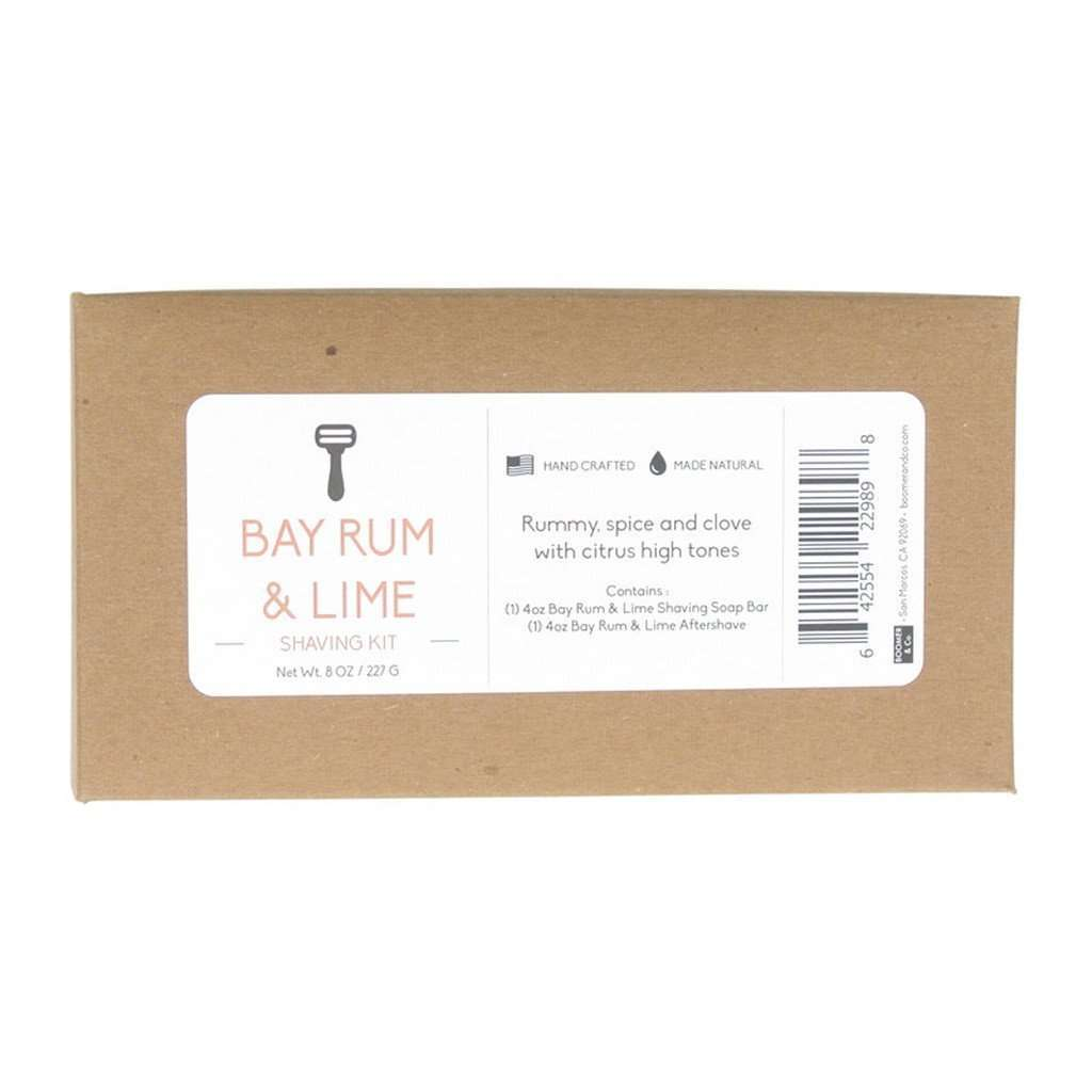 Bay Rum & Lime Shaving Kit CoolHatcher at TheArtOfLiving.Earth