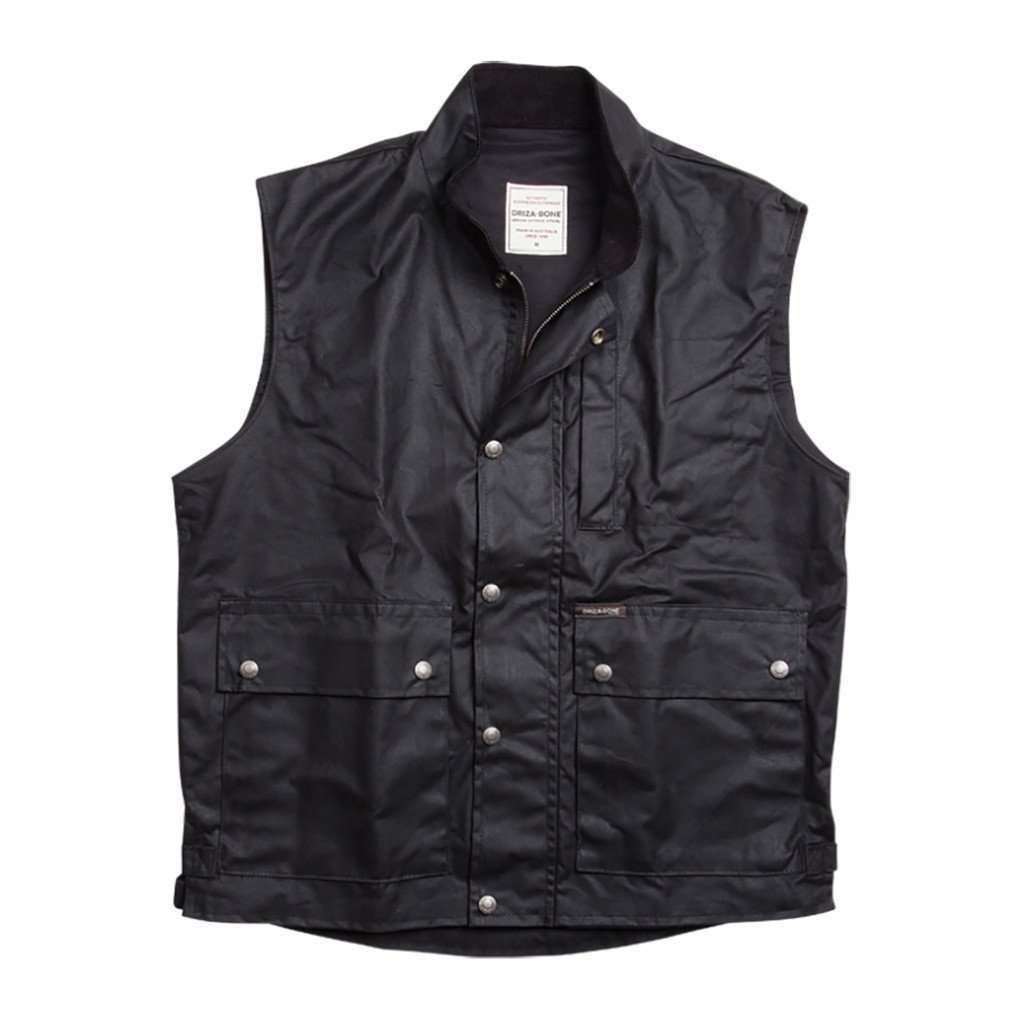 Belltrees Vest - Black CoolHatcher at TheArtOfLiving.Earth