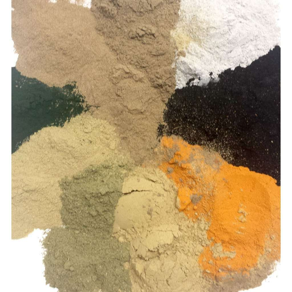 Bentonite Herbal Clay Face Mask CoolHatcher at TheArtOfLiving.Earth