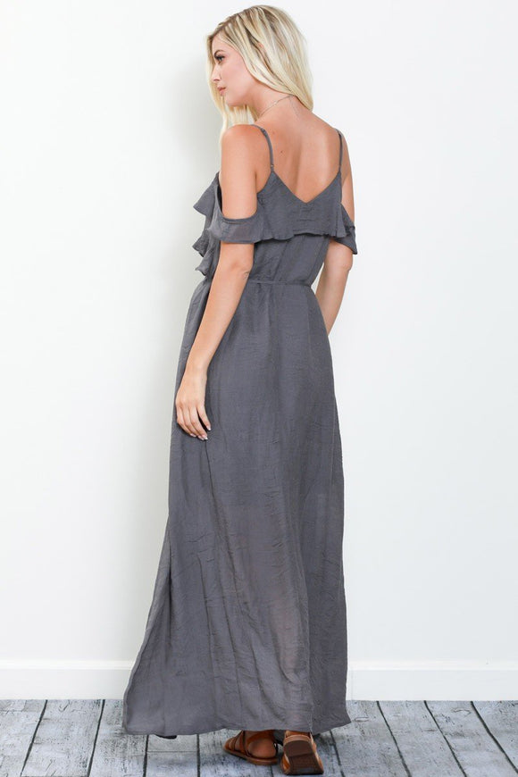 'Free Falling' Maxi Dress CoolHatcher at TheArtOfLiving.Earth