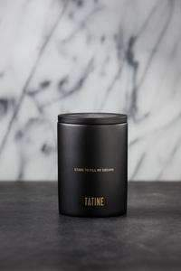 Kashmir Candle in Black Concrete CoolHatcher at TheArtOfLiving.Earth