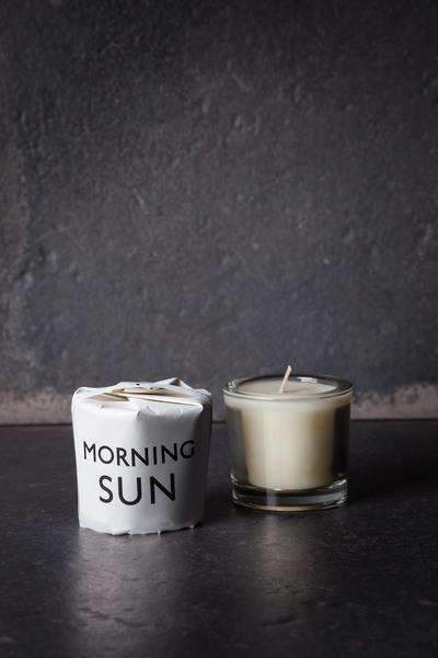 Morning Sun Votive Candle CoolHatcher at TheArtOfLiving.Earth