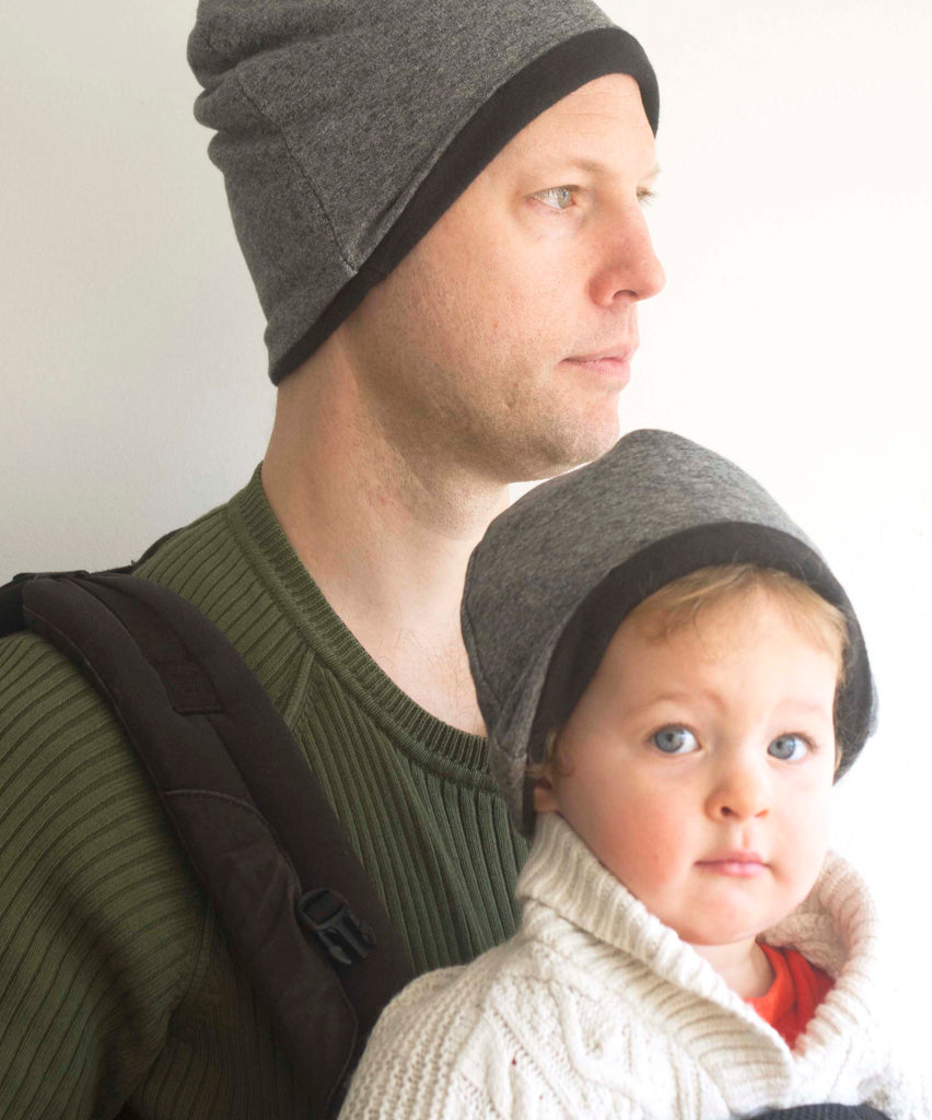 Slouchy hat for Big and Little ones