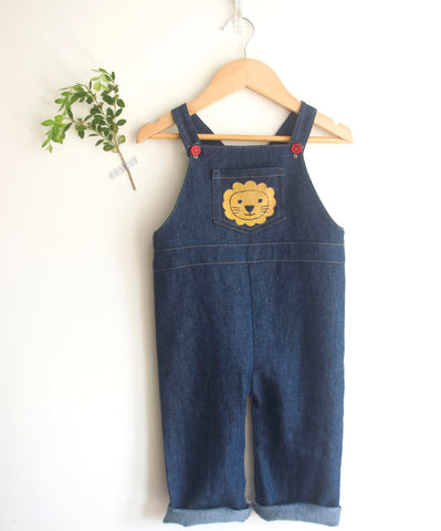 lion overalls on hanger