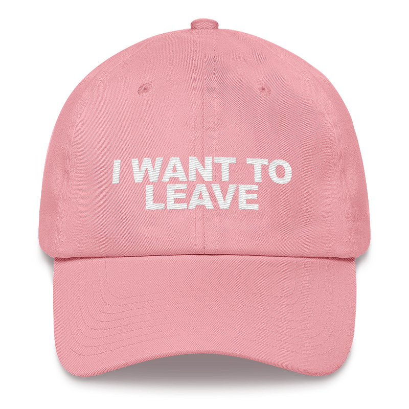 I Want To Leave hat cap embroidered X-Files Geek Nerd