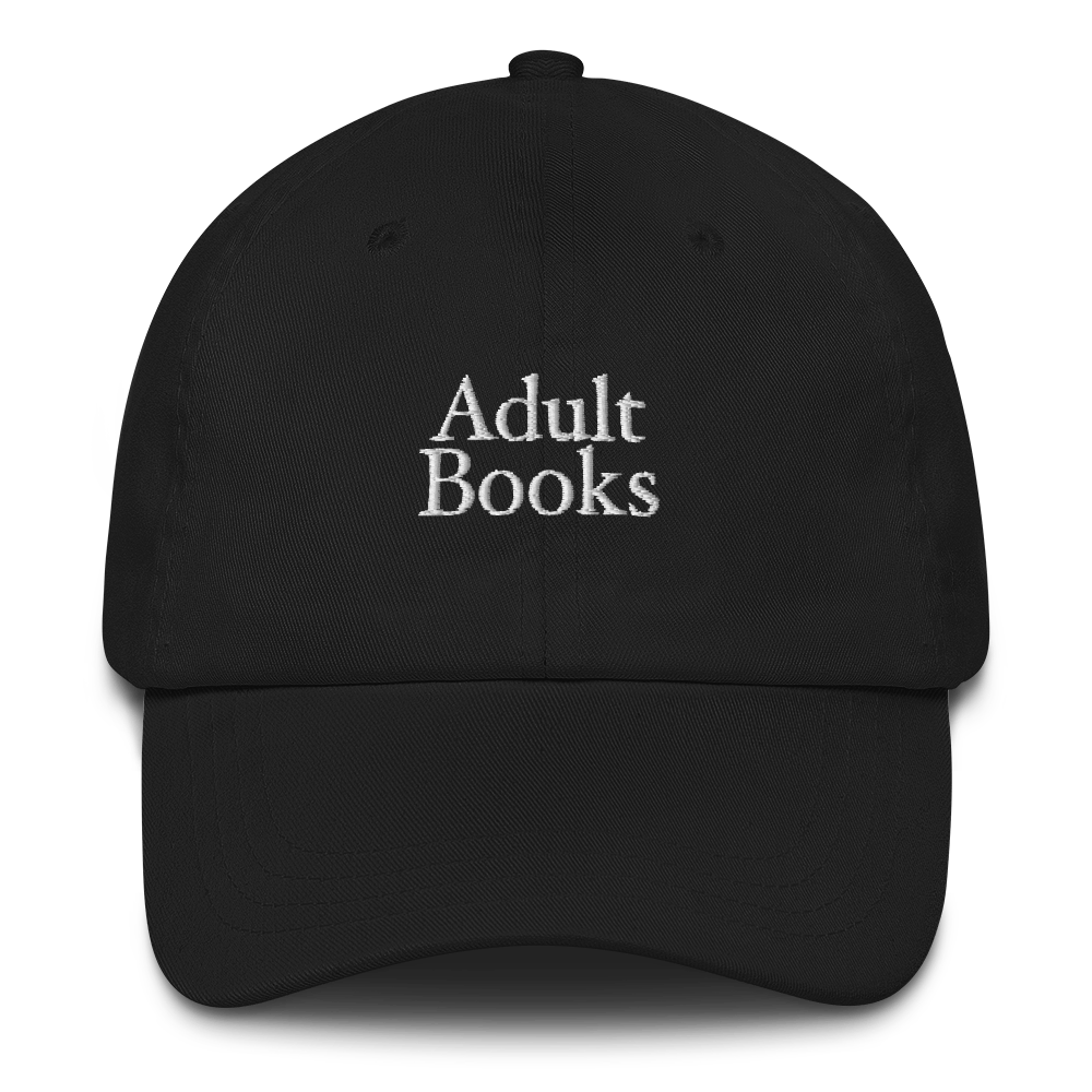 Adult Books Hat
