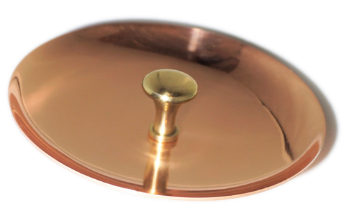 The Perfect Copper Pitcher Lid by Copper Mules