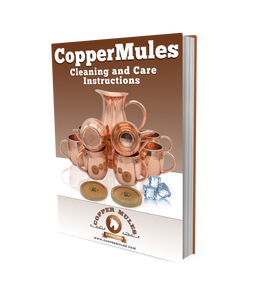Moscow Mule Copper Mugs Set by Copper Mules – Hand Hammered - Classic Riveted Handles – Holds 16oz