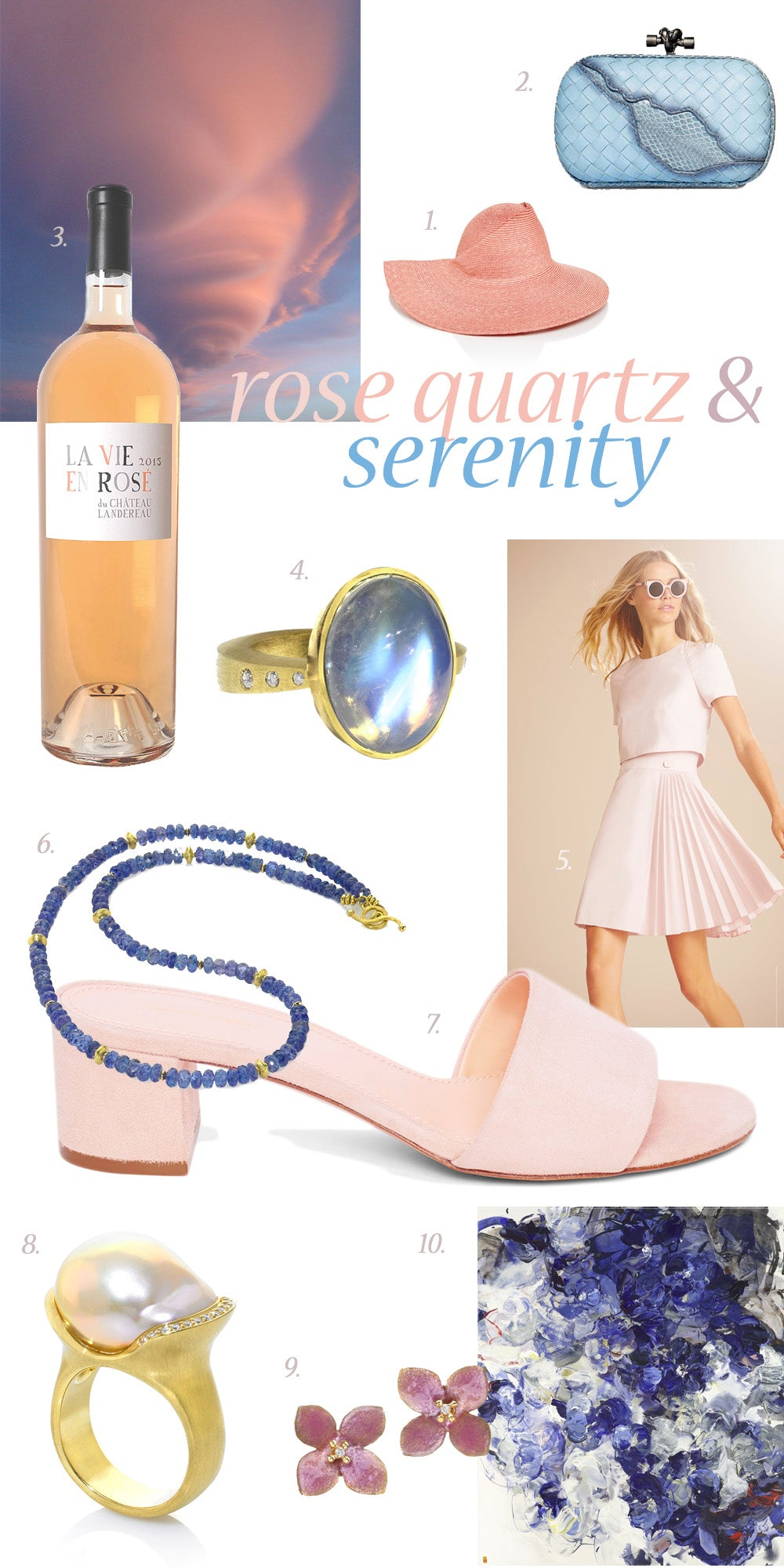 Rose Quartz and Serenity