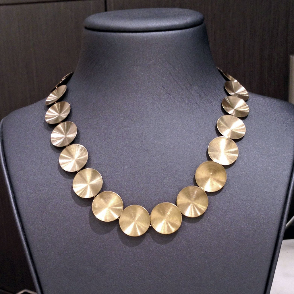 Antonio Bernardo Yellow Gold White Gold Ombre Necklace - Szor Collections