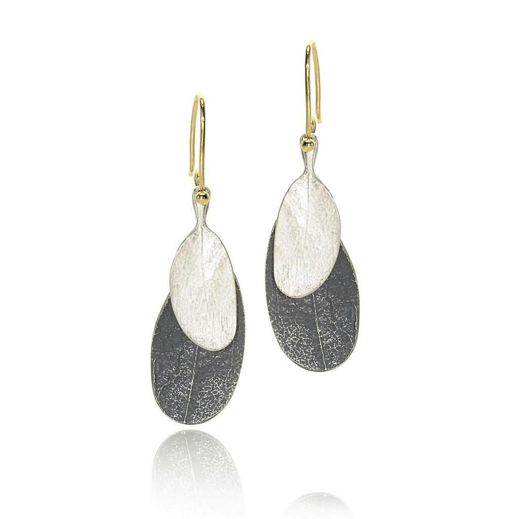 John Iversen - John Iversen Assorted Double Leaf Earrings - Szor Collections - 1