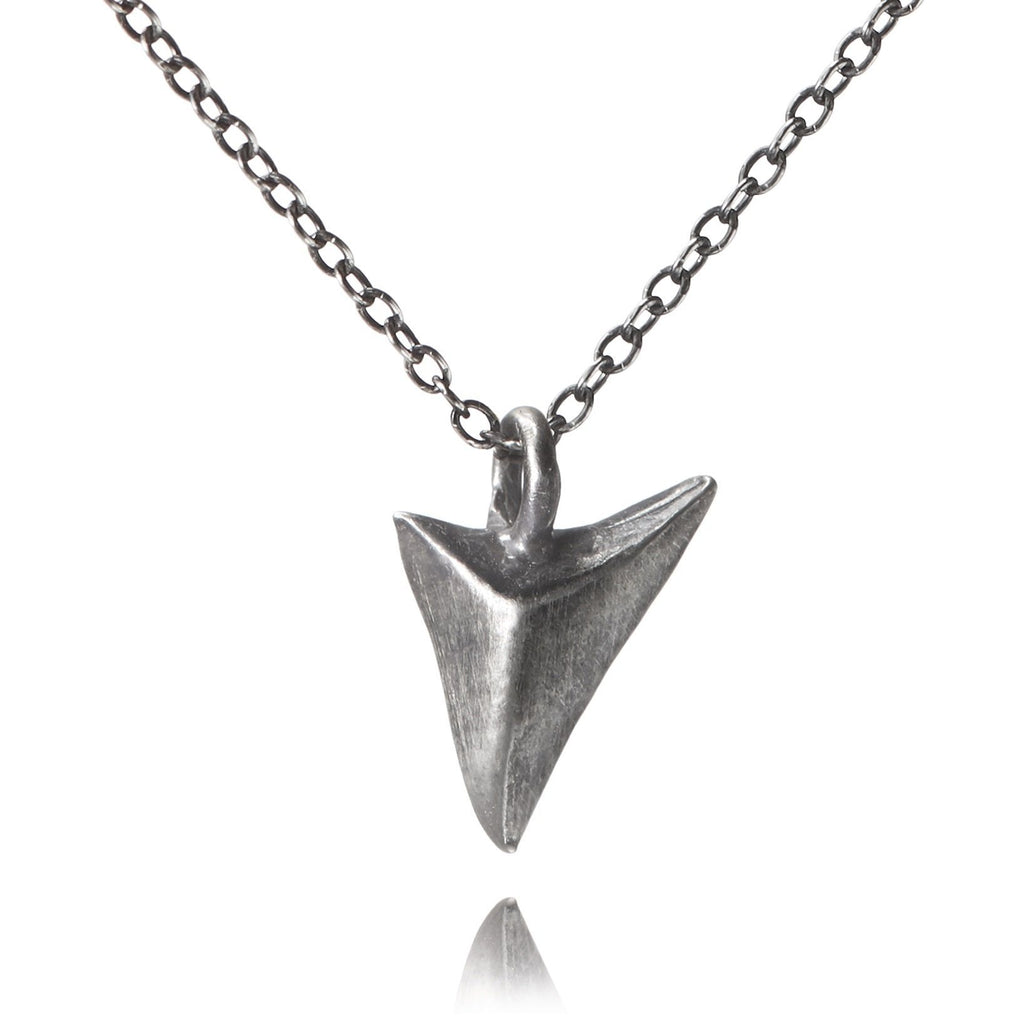 Lauren Wolf Oxidized Silver Thorn Necklace - Szor Collections