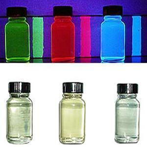 Transparent UV Reactive Paint