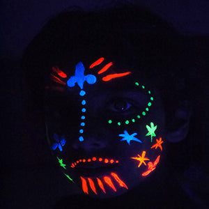 UV Face & Body Paints