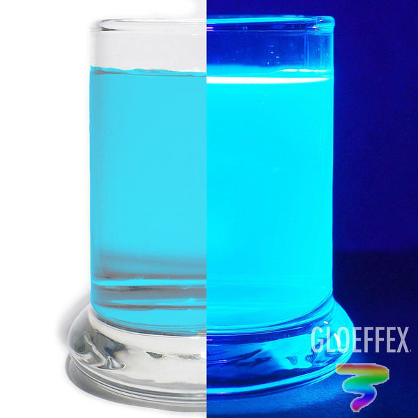 Blue UV Reactive Water Dye - GLO Effex