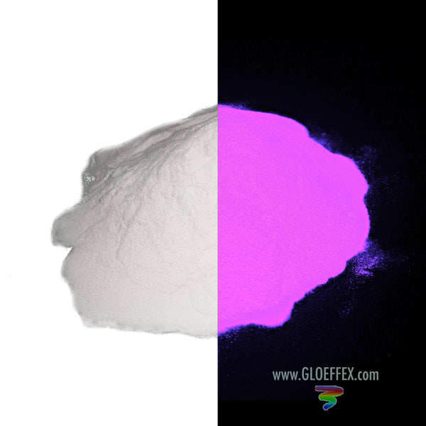 Phosphorescent Glow in the Dark Powder Pigment - Pink-GLO Effex