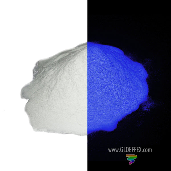 Phosphorescent Glow in the Dark Powder Pigment - Purple - GLO Effex