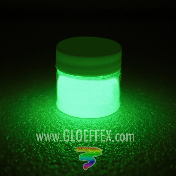 Phosphorescent Glow in the Dark Paint - Green - GLO Effex