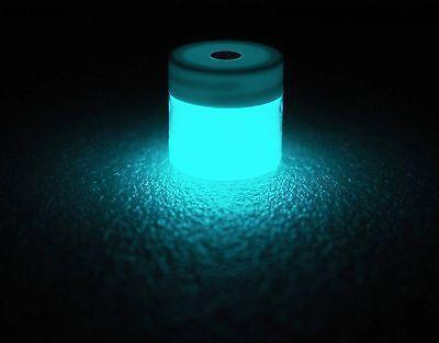 Phosphorescent Glow in the Dark Powder Pigment - Aqua - GLO Effex