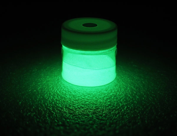 Phosphorescent Glow in the Dark Powder Pigment - Green - GLO Effex