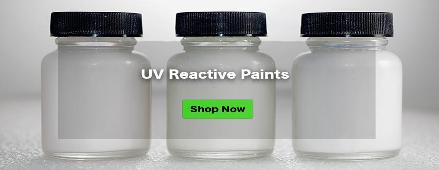 Transparent UV Reactive Paint - GLOEFFEX