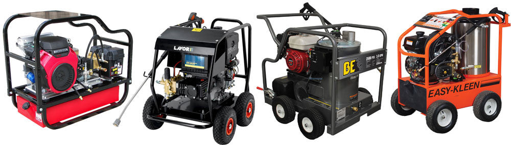 Pressure Washers for Bin Cleaning