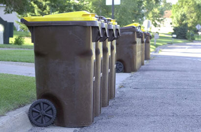 garbage cans on street business opportunity
