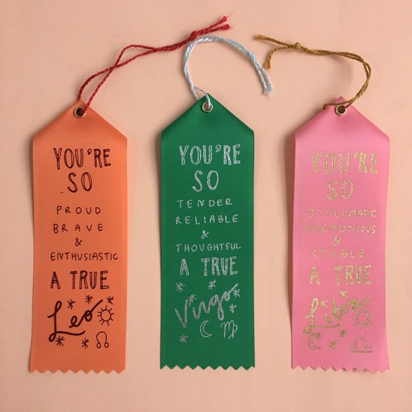 ZODIAC RIBBONS
