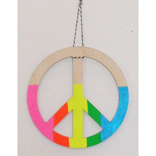 PEACE SIGN WALL CHARM