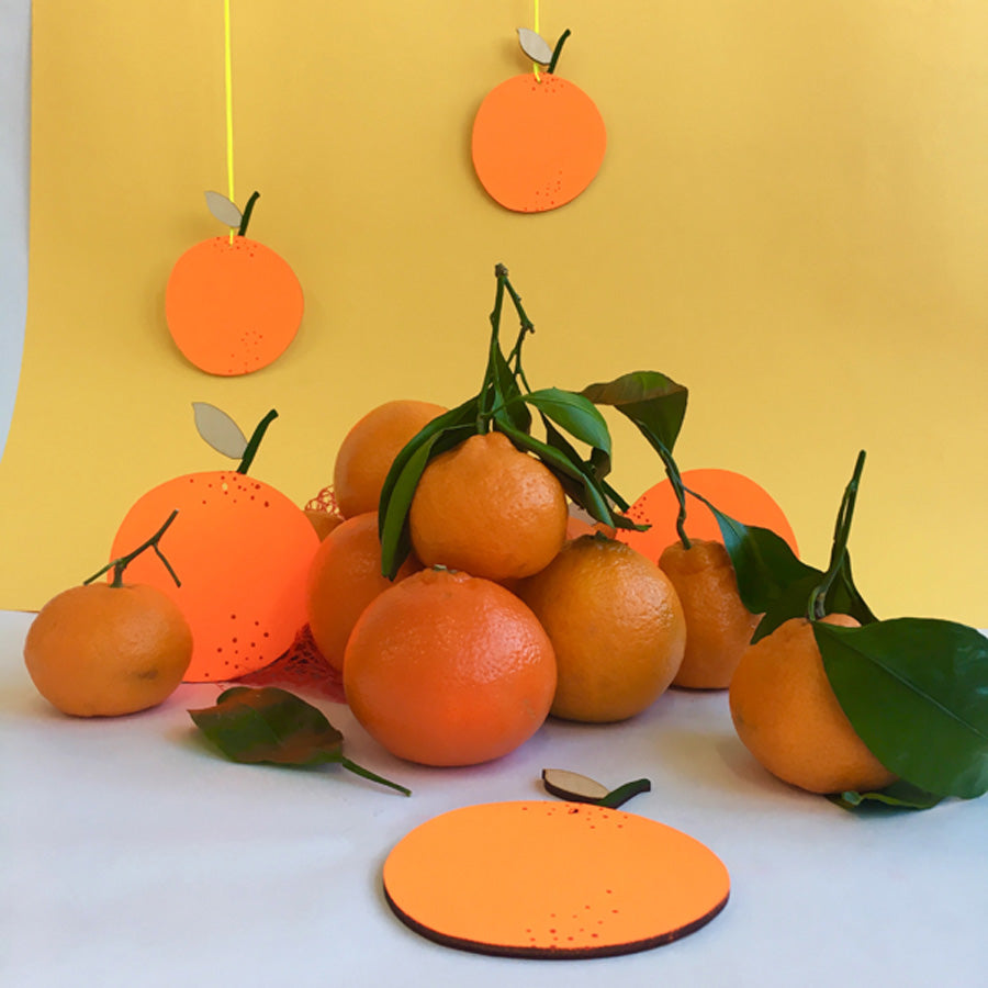 FRUIT WALL CHARM - ORANGE