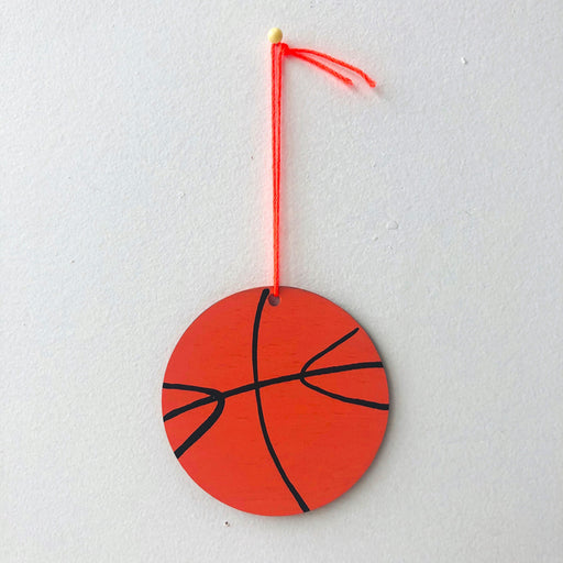 BASKETBALL ORNAMENT MINI CHARM