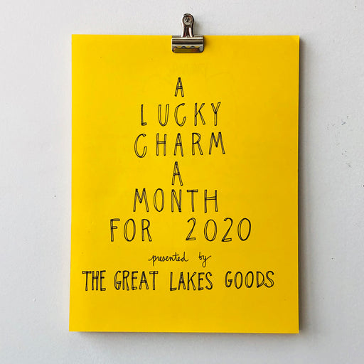 LUCKY CHARMS CALENDAR FOR 2020