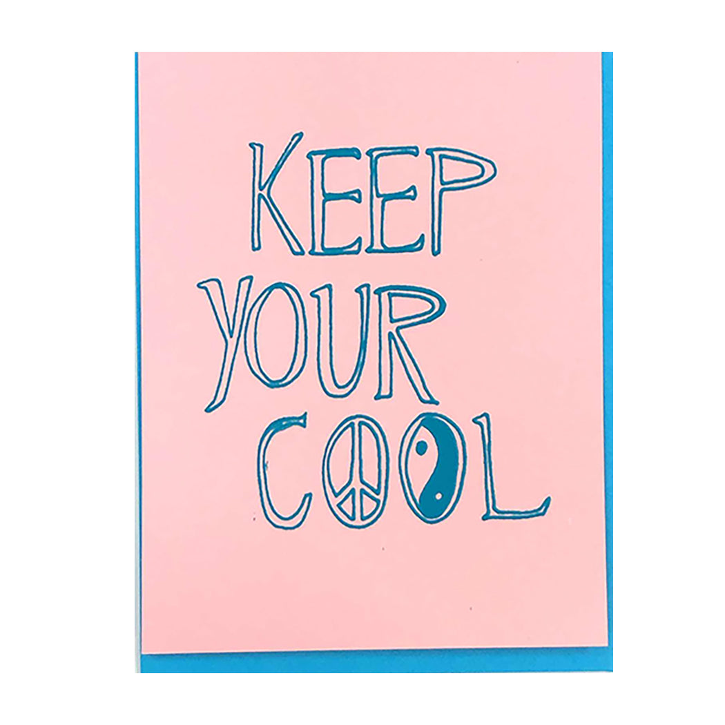 KEEP YOUR COOL CARD