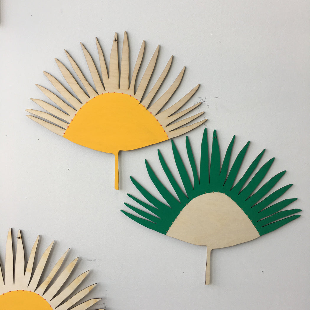 FAN PALM WALL CHARM