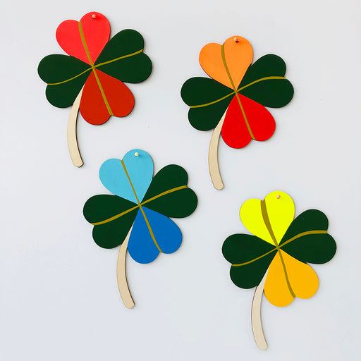 FOUR LEAF CLOVER - WALL CHARM