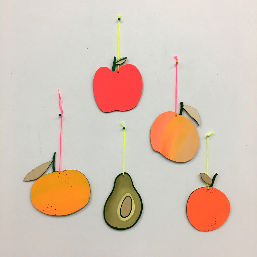 FRUIT WALL CHARM - AVOCADO