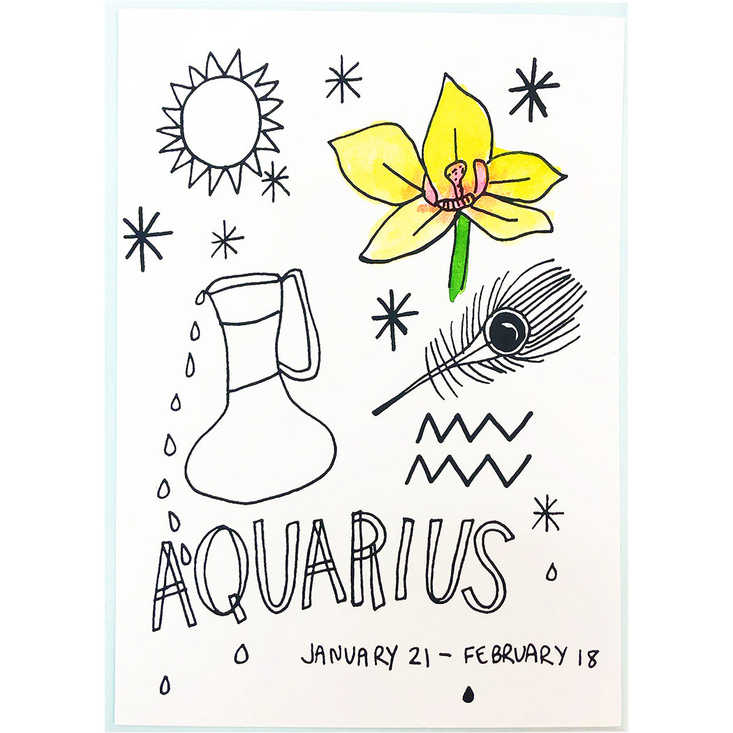 AQUARIUS CARD