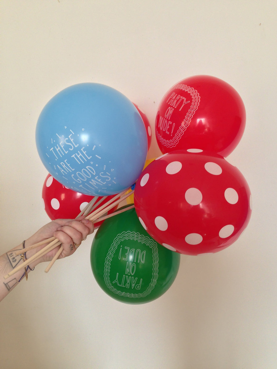 PARTY BALLOONS SET