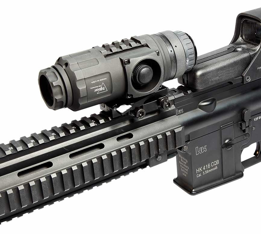 ir patrol m300w 19mm rifle mounted kit northstar optics