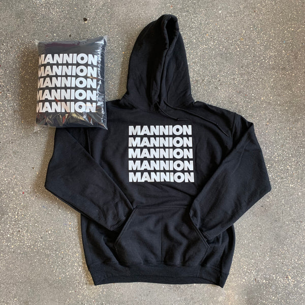 Exclusive Team Mannion Hoodie - Black / White