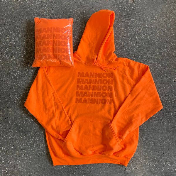 Exclusive Team Mannion Hoodie - Safety Orange / Orange
