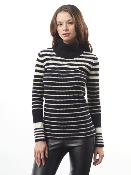 "<i id=""HT"">13</i> Variegated Striped Turtle Neck"