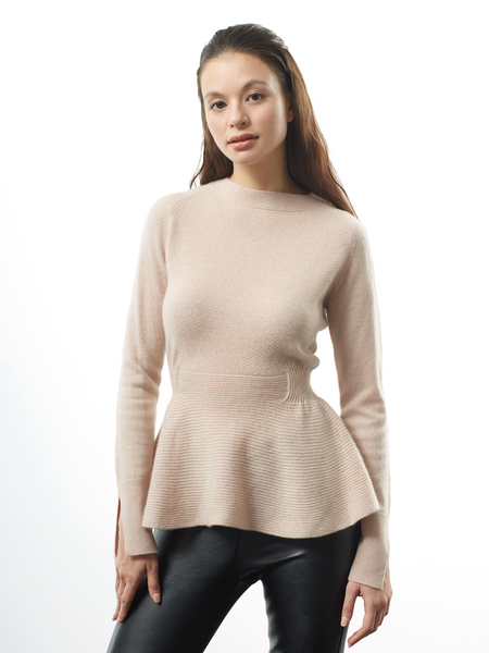 "<i id=""HT"">14</i> Seed Stitch Blouse Sweater"