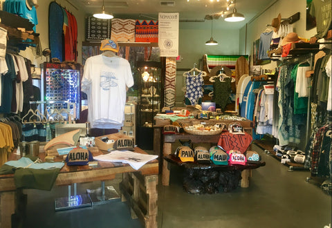 POME family run, eco-conscious surf boutique located on the north shore of Maui in Paia