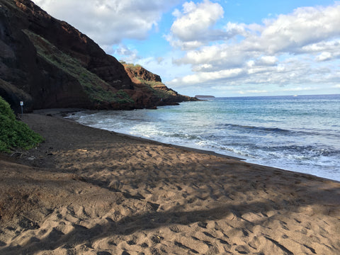 Makena Black Sand Beach