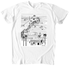 Pier Surfing T-Shirt