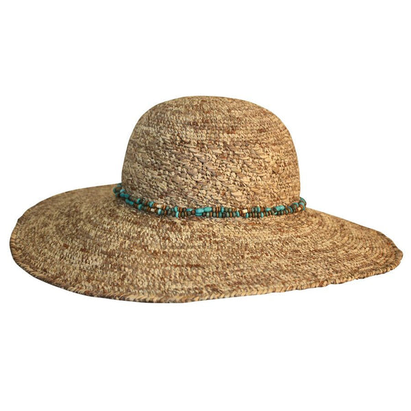 Misty Wide Brimmed Raffia Summer Hat by Conner Hats