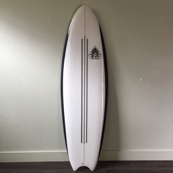 "6'4"" Space Junk with Fins by Om Surf Company"